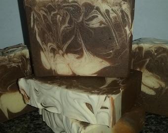 Pumpkin Cheesecake Cold Process Soap