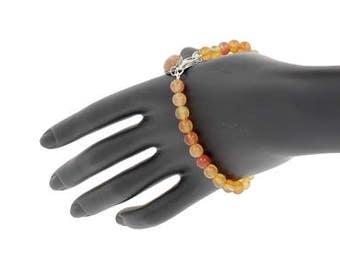 Bracelet natural cornelian