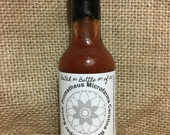 Carolina Reaper Pepper Sauce w/ Free Shipping