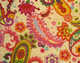 Paisley And Flowers Anyone