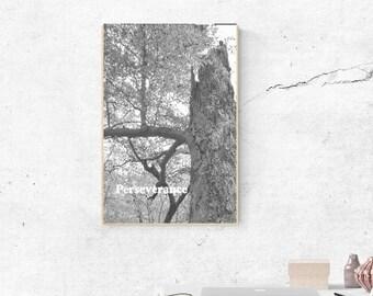 Perseverance Printable Art 8 X 10 Instant Download Wallart Minimalist