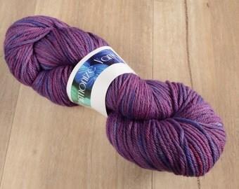 Lulu DK 100% Australian Merino Purple Hand Dyed Yarn