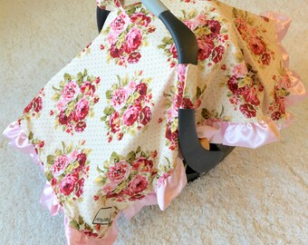 Crochet Pattern Crocodile Stitch Car Seat Canopy Blanket