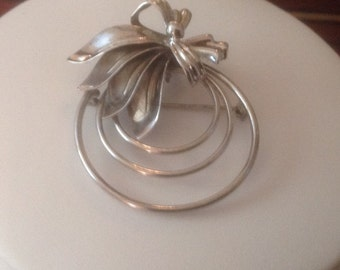 LAMPL Sterling Silver 1950's Brooch/Pendant...Collectable!