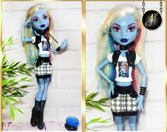 "Monster doll set ""Fashionista"" high fashion outfit"