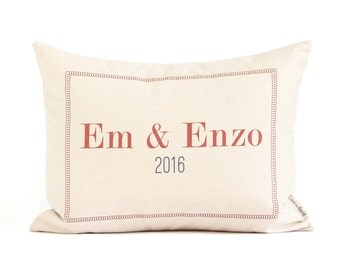 Housewarming Gift for Couple,  Gift for Her, Gift for Him, 2nd Anniversary Gift, Throw Pillows, Home Decor, Valentines Gifts