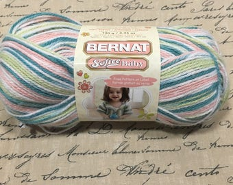 One Skein Brent Softee Baby yarn  Garden Ombre Lot 221731