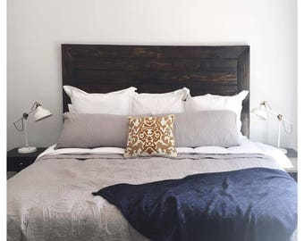 Reclaimed wood headboard made to order. ****Local Pickup or Delivery to Fresno, CA Area only*****
