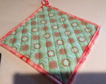Pot Holders/Hot Pads Quilted, Handmade