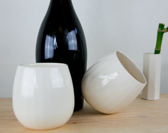 Stemless Wine Glass - Ceramic