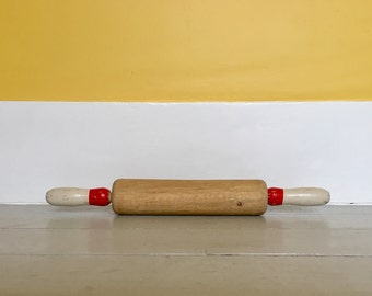 French Vintage Wooden Rolling Pin