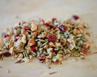 SUBSCRIBE & SAVE - 3 Monthly deliveries to your door! You choose granola flavors, we add the cookies