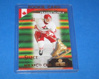 Vintage 1994-95 Select Rookie Card, Jerome Iginla Card #165, Ex-Nm Condition.