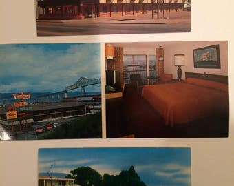 Motel Postcards 1968-69 Best Western Posted Set of 3