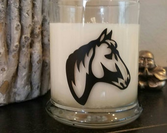 Horse Head Soy Scented Candle