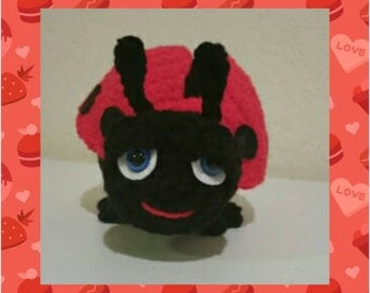 Crochet Lady Bug, Lady Bugs Decoration Decor, Lady Bug Toys, Lady Bug Plush Bug Toys