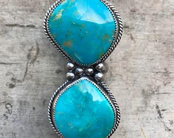 SIZE 7: Kingman Turquoise Ring