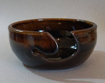 Yarn Bowl - Knitting Bowl - Yarn Bowls for Knitting - Yarn Organizer - Yarn Keeper - Handmade Stoneware Bowl - Ceramic Yarn Bowl