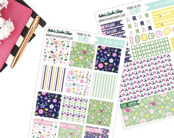 Spring Blooms Weekly Kit for Mini Happy Planner
