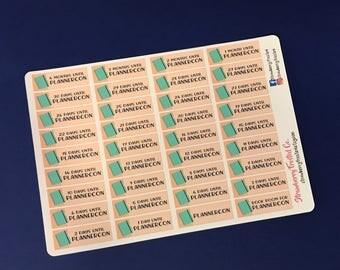 PlannerCon Countdown Planner Stickers-