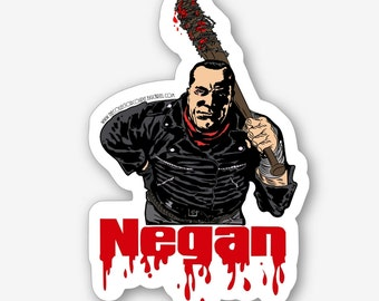 Negan Sticker