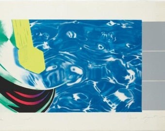 James Rosenquist Horseblinders West 1972 signed numbered lithograph