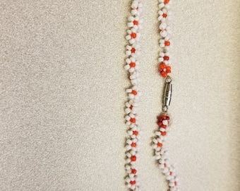 Beaded Flower bracelets and necklaces!