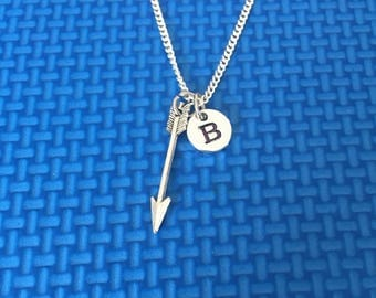 arrowhead necklace ,Jewelry, Silver Jewelry, arrowhead jewelry, gift for hunters, southwest necklace,  CP35
