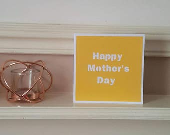 Mother's day card, Paper cut card, Mum card, Mothering sunday, Card for mum
