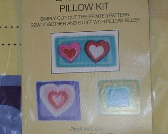 heart  Easy Stitch Pillow Kit