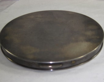 H-28 Vintage compact sterling silver