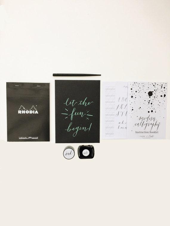 Modern calligraphy kit starter