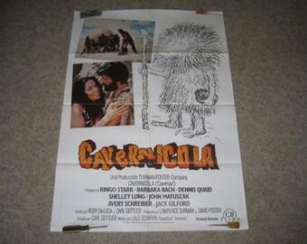 Ringo Starr (Beatles) Caveman Movie Poster
