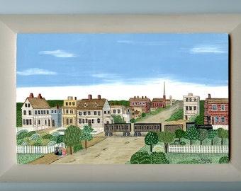 Vineland, New Jersey ca. 1868 Historic Townscape