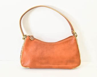 Leather purse - Cole Haan purse - Cole Haan handbag - Leather handbag - Purse - Brown leather handbag