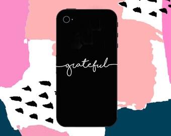 Grateful Decal - laptop decal- all surface decal - vinyl - vinyl decals