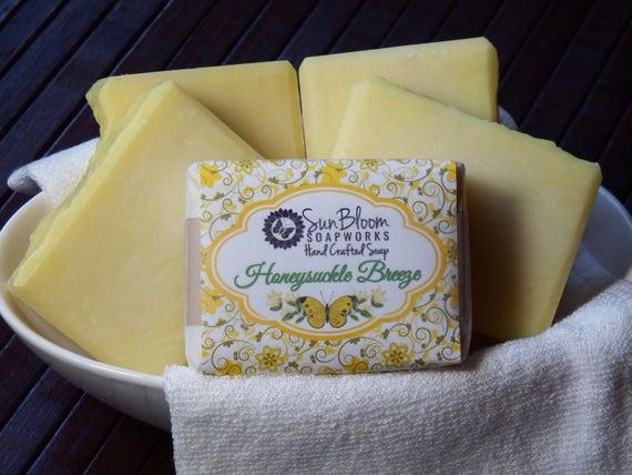 Honeysuckle Breeze Soap