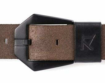 Leather Belt, Mens Leather Belt, Womens Leather Belt, Genuine Leather Belt, Full Grain Leather Belt, Brown Leather Belt