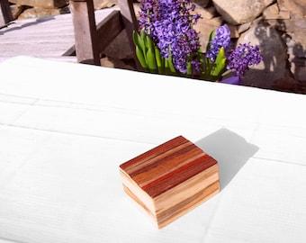 Lock Box, Keepsake Box, Jewelry Box, Wood Handmade, Style: Colorado Box
