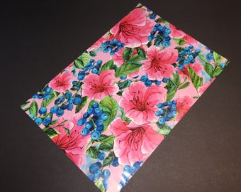25 Designer Poly Mailers 10x13 Pink Tropical Flowers Envelopes Shipping Bags Spring Mother's Day