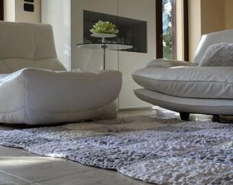Minimalist Rug, White Rug, Hygge Home Decor, Hygge Decor, Modern White Rug