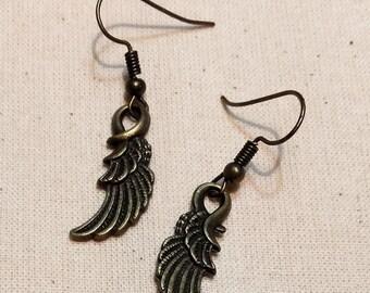 "Earrings ""Wings"""