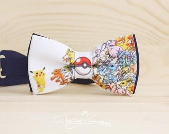 Pokemon Bow tie - Bowtie Poke Ball Pokemon GO Pikachu