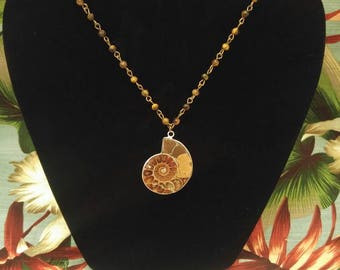 Shell Tiki Necklace