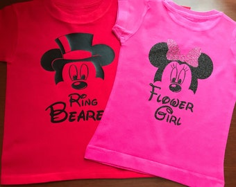 Ring bearer and flower girl shirts!