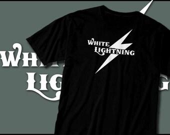 White Lightning Tshirt, Moonshiner Shirt, Bootlegger, Hooch, Home Made Liquor, Whiskey, Booze