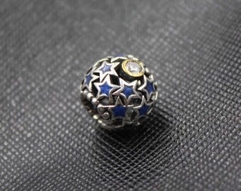New Authentic Pandora 14K Gold Night Sky CZ 791371CZ