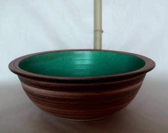Sink / turquoise Ø 40 cm, H 14 cm