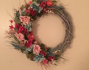 Cottage Chic Wreath