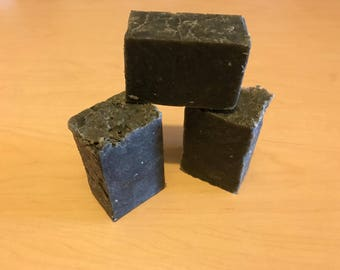 Sudsy Locks with activated charcoal shampoo bar